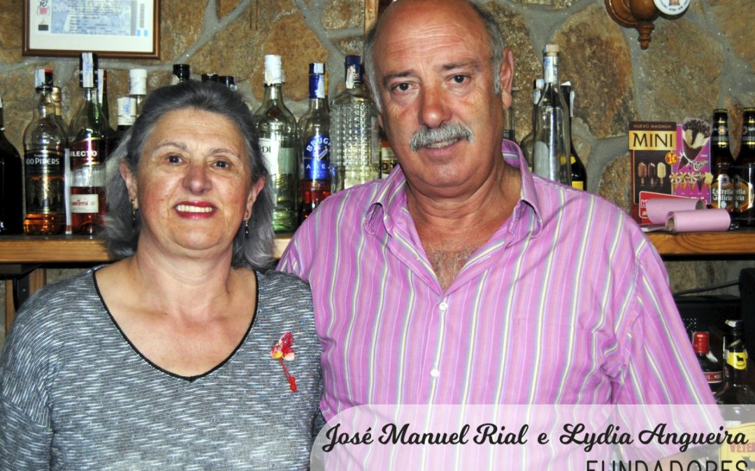 Lydia Angueira e José Manuel Rial (fundadores)